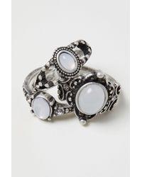 H&M - Metallic 3-pack Rings - Lyst