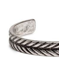 H&M - Metallic Metal Bangle - Lyst