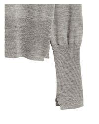 H&M - Gray Cashmere-blend Jumper - Lyst