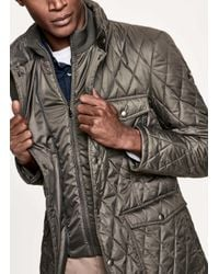 Hackett - Multicolor Quilted Technical Jacket for Men - Lyst