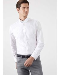 Hackett | White Oxford Shirt for Men | Lyst