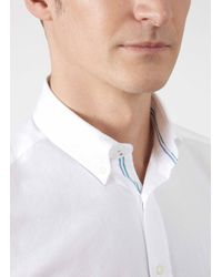 Hackett - White Oxford Shirt for Men - Lyst