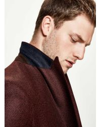 Hackett - Multicolor Wool Cashmere Textured Blazer for Men - Lyst