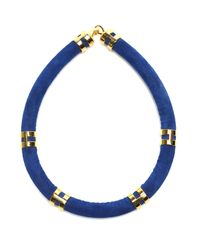 Lizzie Fortunato | Blue Double Take Necklace In Cobalt | Lyst