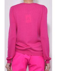 Altuzarra - Pink Minamoto Sweater In Hibiscus - Lyst