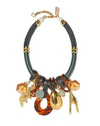 Lizzie Fortunato | Multicolor Safari State Of Mind Necklace | Lyst