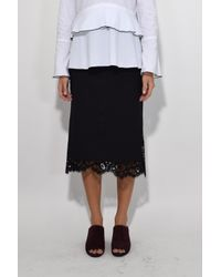Dorothee Schumacher - Cool Ambition Skirt In Pure Black - Lyst