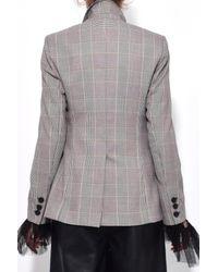 Dorothee Schumacher - Natural Sophisticated Punk Jacket In Beige/brown Punk - Lyst