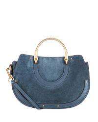 Chloé - Blue Medium Pixie Bag - Lyst