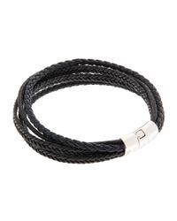 Tateossian - Black Multi-strand Cobra Bracelet for Men - Lyst