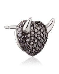 Theo Fennell - Gray Devil 'art Earrings - Lyst