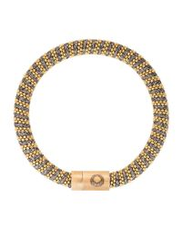 Carolina Bucci - Yellow Gold-plated Woven Bracelet - Lyst
