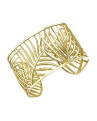 Theo Fennell - Metallic Palm Diamond Cuff - Lyst