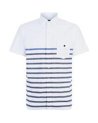 Polo Ralph Lauren - Blue Stripe Print Shirt for Men - Lyst