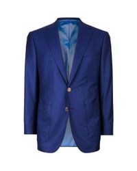 Stefano Ricci | Blue Patch Pocket Blazer for Men | Lyst