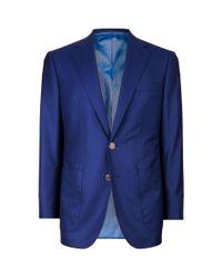 Stefano Ricci - Blue Patch Pocket Blazer for Men - Lyst