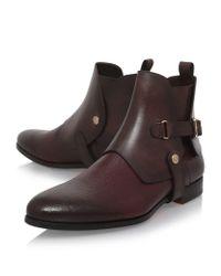 Santoni - Brown Riding Boots for Men - Lyst