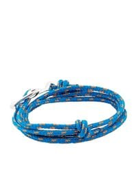 Miansai | Blue Rope Wrap Anchor Bracelet | Lyst