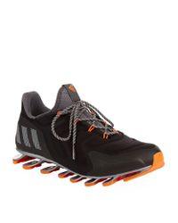 Adidas Originals | Black Springblade Nanaya Running Shoes for Men | Lyst