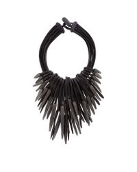 Eskandar | Black Multi-strand Carved Necklace | Lyst