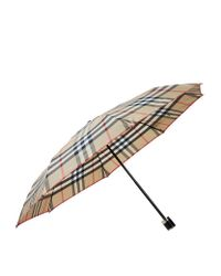Burberry | Multicolor Small Check Umbrella | Lyst