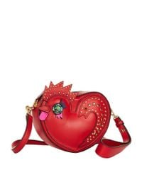 MCM | Red Rooster Heart Coin Case | Lyst