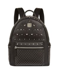 MCM | Black Small Special Stark Backpack | Lyst