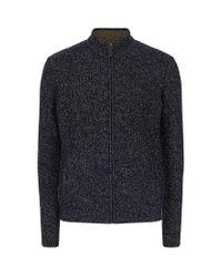 Ted Baker | Blue Akela Chunky Knit Cardigan for Men | Lyst