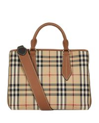 Burberry | Brown Horseferry Check Tote | Lyst