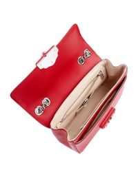 Dolce & Gabbana - Red Lucia Large Chain Shoulder Bag - Lyst