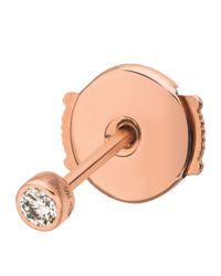 Vanrycke - White One Diamond Single Earring - Lyst