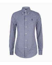Polo Ralph Lauren - Blue Kendal Gingham Shirt for Men - Lyst