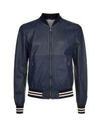 Dolce & Gabbana | Blue Mesh Blouson Jacket for Men | Lyst