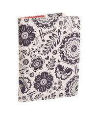 Harrods   White Botanical Passport Cover   Lyst