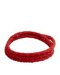 Miansai - Red Ipsum Rope Bracelet - Lyst
