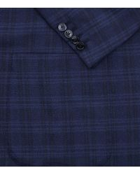 Stefano Ricci | Blue Checked Wool-silk Jacket for Men | Lyst
