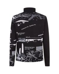 Blood Brother - Black Funnel Neck Sweater for Men - Lyst