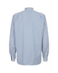 Paul & Shark | Blue Fine Stripe Shirt for Men | Lyst