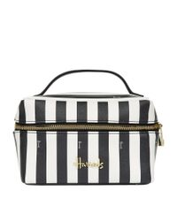 Harrods | Black Boutique Multi Stripe Large Cosmetic Bag | Lyst