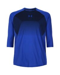Under Armour - Blue Threadborne Vanish T-shirt for Men - Lyst