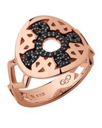 Links of London - Metallic Rose Gold Timeless Ring - Lyst