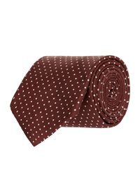 Turnbull & Asser - Multicolor Micro Polka Dot Tie for Men - Lyst