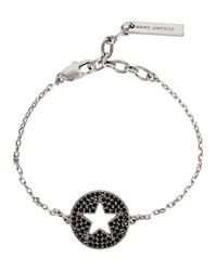 Marc Jacobs - Multicolor Silver Tone Star Bracelet - Lyst