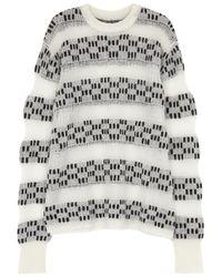 Public School - Multicolor Shirbori Striped Wool Blend Jumper - Lyst