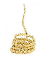 Paula Mendoza | Metallic Nereus Gold-plated Bracelet | Lyst