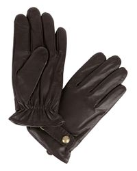 Polo Ralph Lauren | Brown Leather Gloves | Lyst