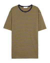 Sunspel | Blue Navy Striped Cotton T-shirt for Men | Lyst