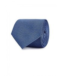 Armani | Blue Silk Jacquard Tie for Men | Lyst