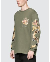 Maharishi - Green Golden L/s T-shirt for Men - Lyst