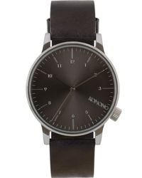 Komono | Black Winston Regal Watch | Lyst